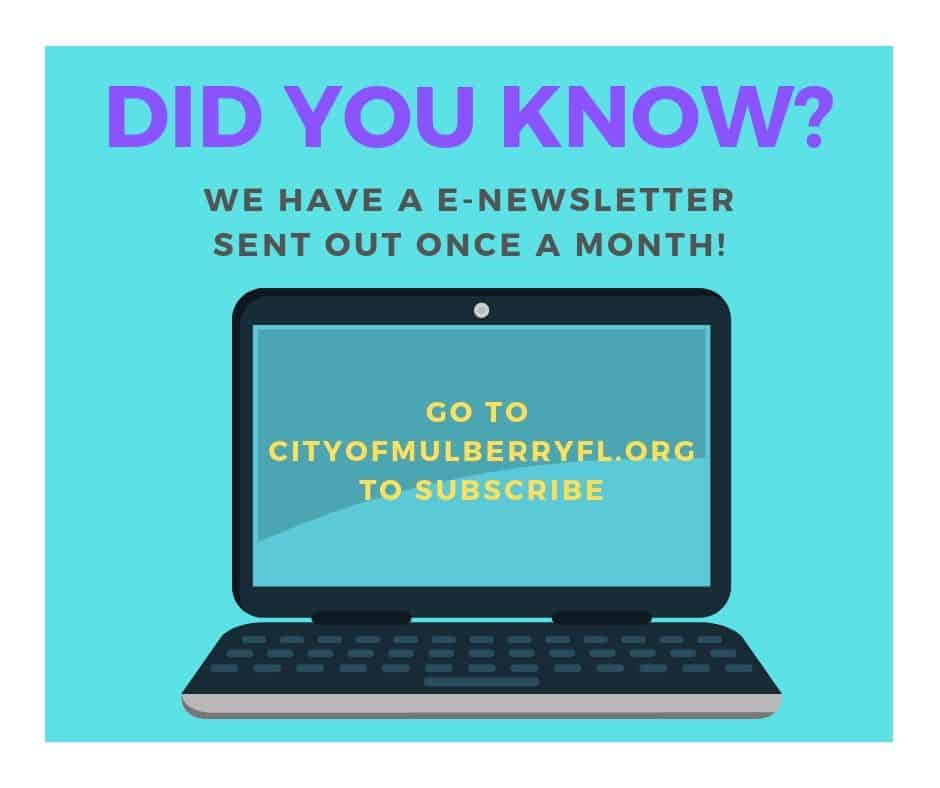 Did You Know - E-Newsletter