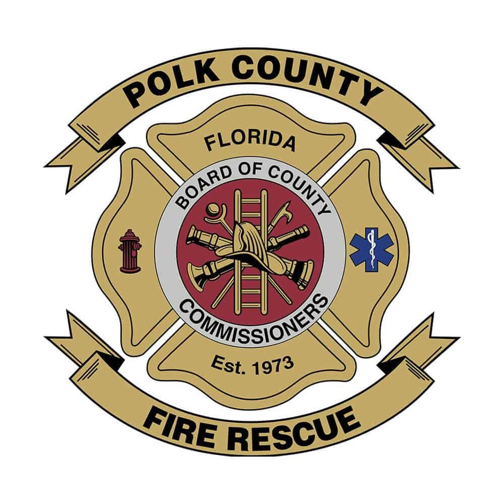 Polk County Fire Rescue Logo